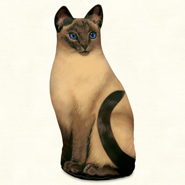 Siamese Cat Doorstop